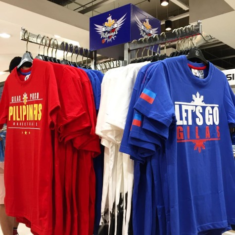 Official Gilas Pilipinas Apparel