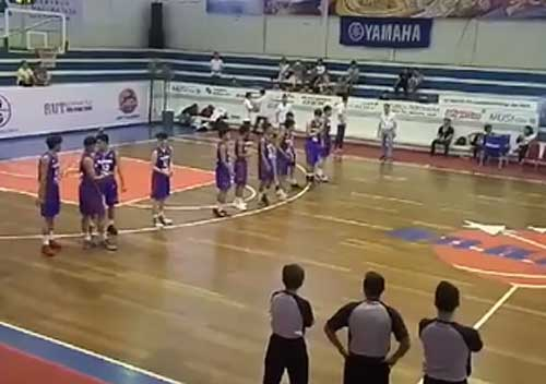 Screenshot of Batang Gilas vs Laos