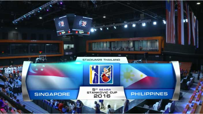 Gilas Cadets vs Singapore Full Game Replay Video