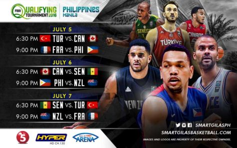 2016 FIBA Olympic Qualifying Tournament Manila Schedule