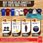 Gilas Pilipinas Merchandise available at Snack Time