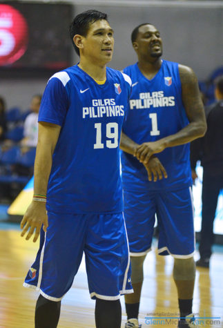 June Mar Fajardo and Andray Blatche