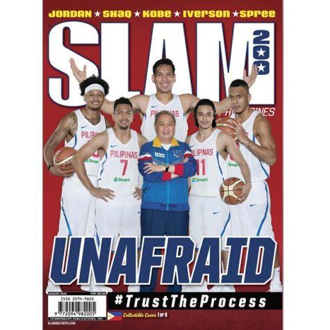 Slam Magazine featuring Gilas Pilipinas