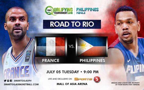 Gilas Pilipinas vs France