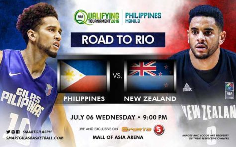 Gilas Pilipinas vs New zealand