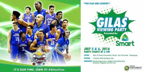 Gilas Pilipinas Viewing Party by Smart