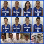 Men and Women's Philippine Team Roster for FIBA 3x3 U18 Asian Championships