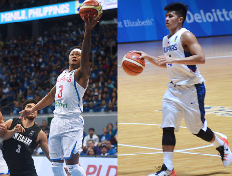 Bobby Ray Parks and Kiefer Ravena