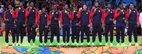 USA Gold Medal Rio Olympics Basketball