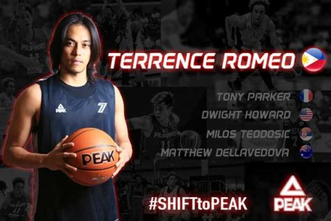 Terrence Romeo new PEAK endorser