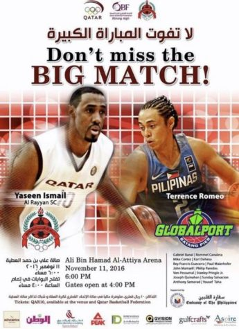 GlobalPort vs Qatar Exhibition Game in Doha