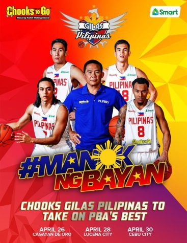 Gilas Pilipinas vs PBA All-Star Line-ups