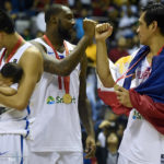 Andray Blatche and June Mar Fajardo