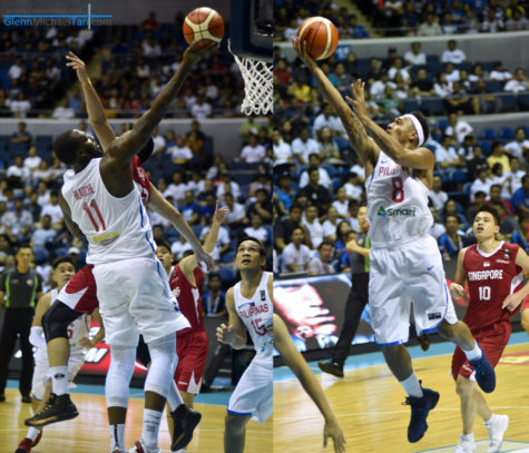 Gilas Pilipinas vs Singapore - SEABA 2017