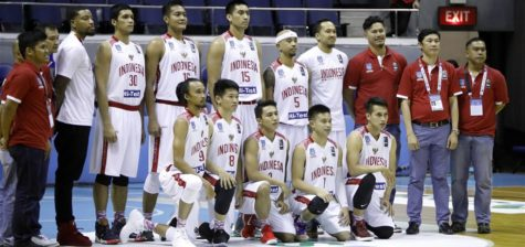 Indonesia Player Roster SEABA 2017