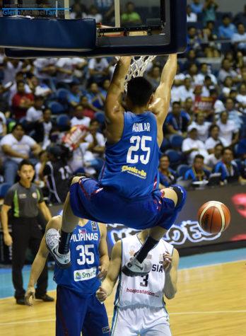 Japeth Aguilar vs Malaysia