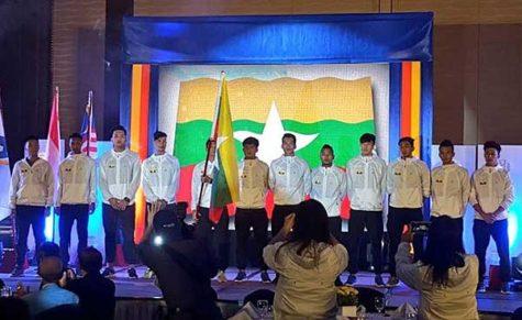 Myanmar SEABA 2017 Roster