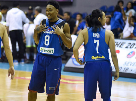 Calvin Abueva and Terrence Romeo