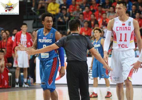 Calvin Abueva vs Yi Jianlian