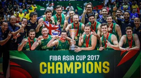 Australia - 2017 FIBA Asia Cup Champions