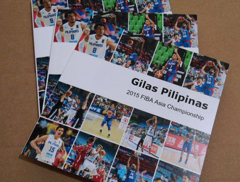 Gilas Pilipinas FIBA Asia 2015 Photo Book