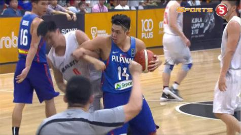 Gilas Pilipinas vs Malaysia