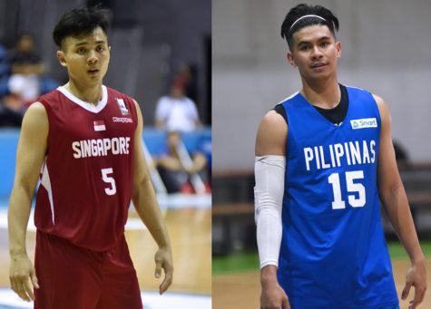 Gilas Pilipinas vs Singapore