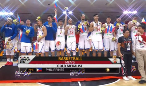 Philippines wins 17th Gold Medal in SEA Games Men's Basketball