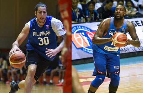 Andray Blatche and Christian Standhardinger