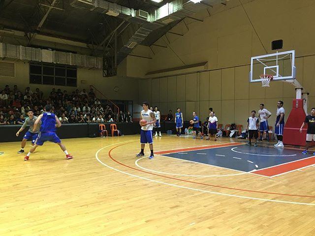 Marc Pingris attends Gilas Practice | Gilas Pilipinas