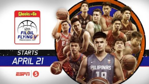 Gilas Pilipinas Cadets Schedule for FilOil Flying V Preseason Premier Cup