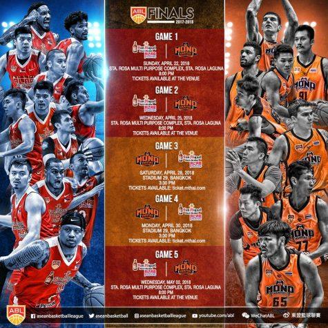 Alab Pilipinas vs Mono Vampire ABL Finals Schedule