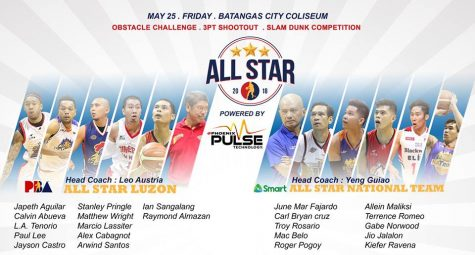 Gilas Pilipinas vs PBA All-Star Luzon