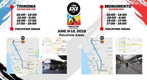 Free Ride to Philippine Arena for the FIBA 3x3 World Cup