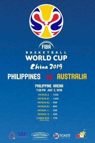 Gilas Pilipinas vs Australia FIBA Qualifiers Game Tickets