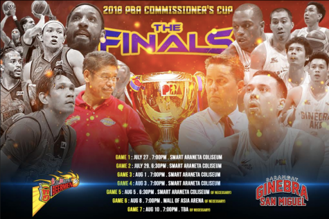 2018 PBA Commissioners Cup Finals Schedule