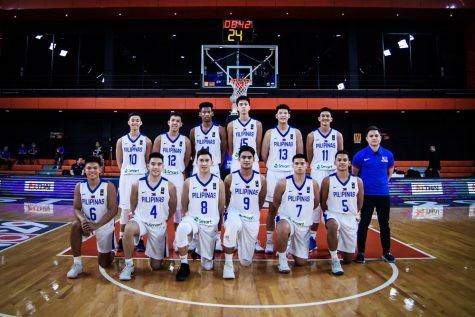 Batang Gilas for FIBA U18 Asia