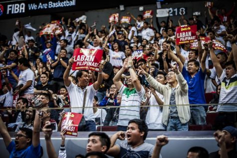 Gilas Fans at MOA Arena