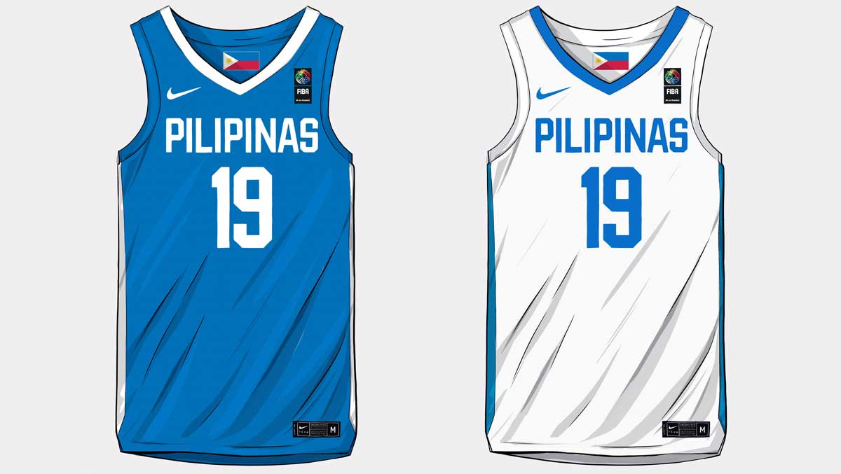 pretty nice d051b 0a608 New Gilas Pilipinas Jersey for the FIBA World Cup 2019 ...